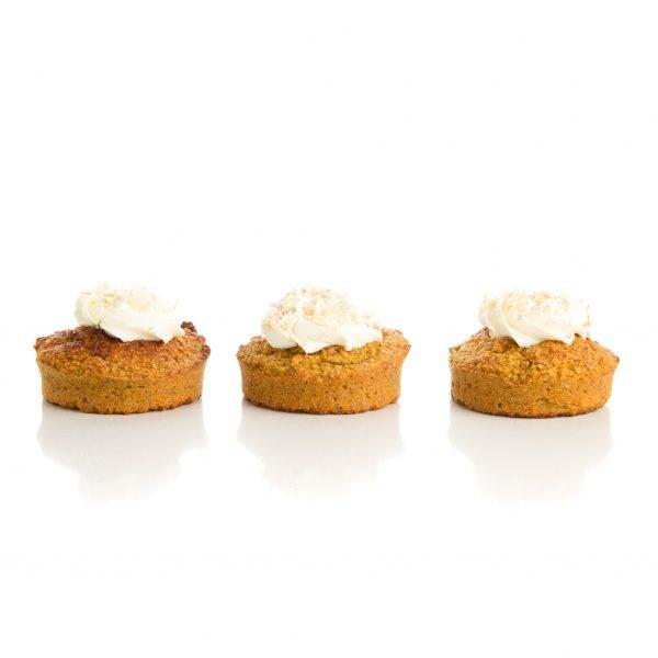Coconut Honey pupcakes - Frankie Loves