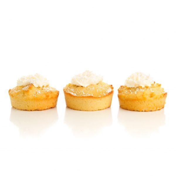Coconut Honey Pupcakes