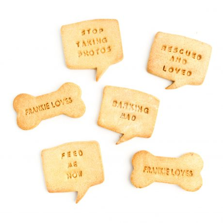 Personalised dog biscuits - Frankie Loves