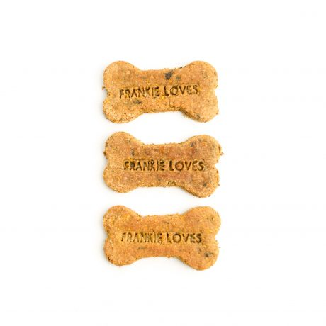 Hand-baked dog biscuits - Frankie Loves