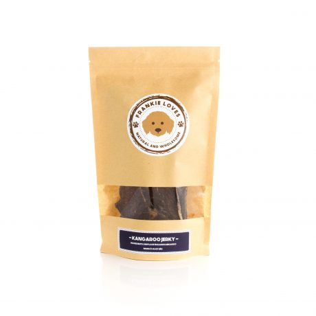 kangaroo jerky - dog treats