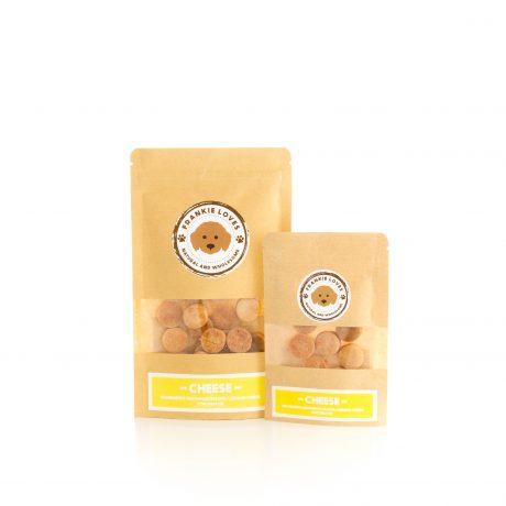 cheese flavour dog treats