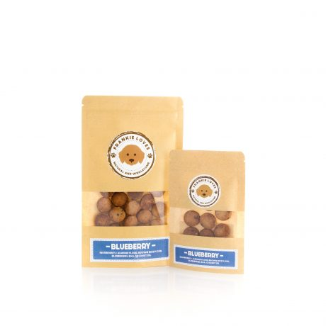 Blueberry dog treats