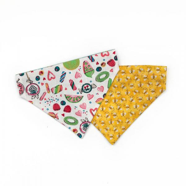 Candy Buzz dog bandana