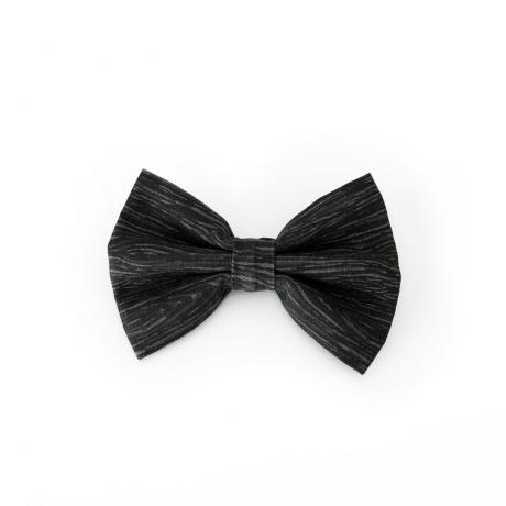 Black dog bowtie