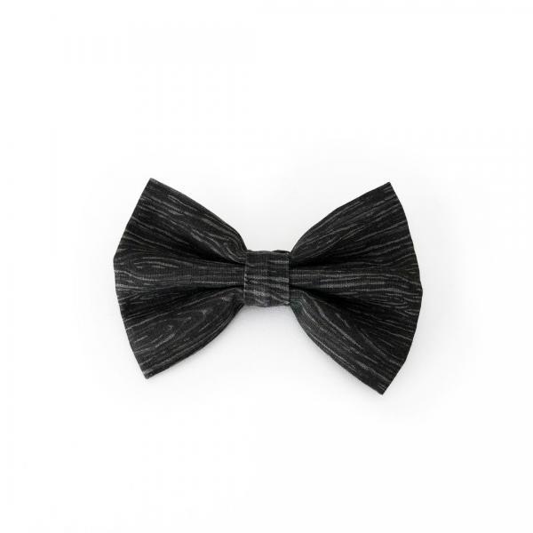 Black dog bowtie