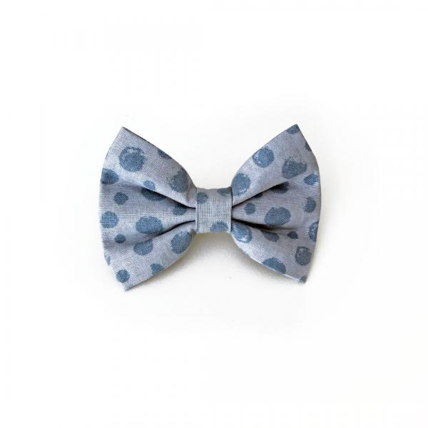 Dotty dog bow tie