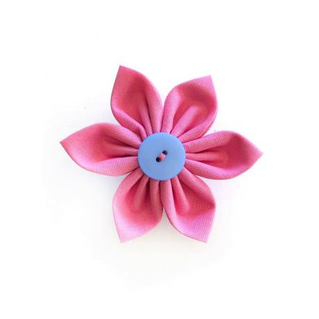 Pink Flower Bow for dogs