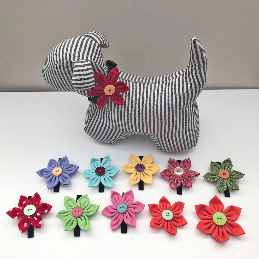 flower bows for dogs
