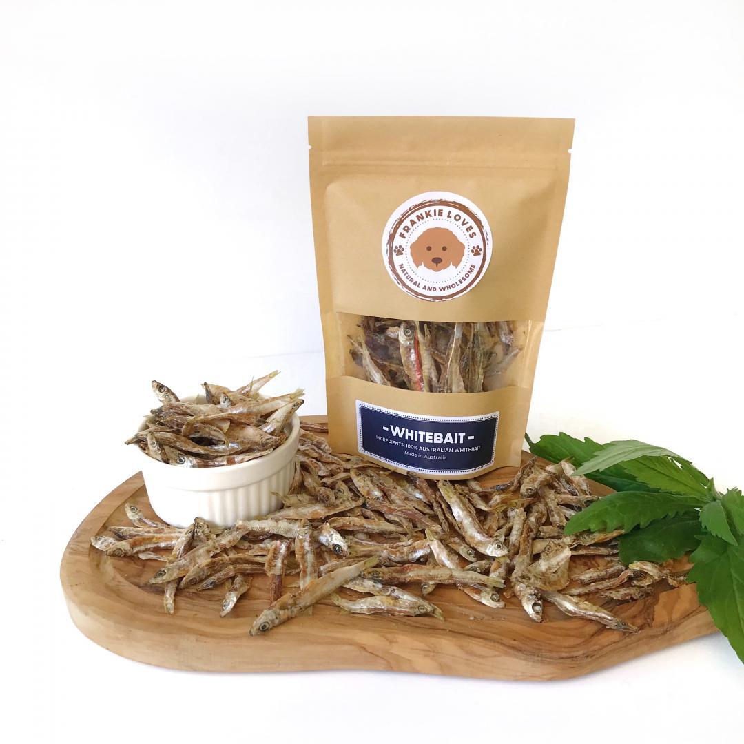 Whitebait Dehydrated Treat pack