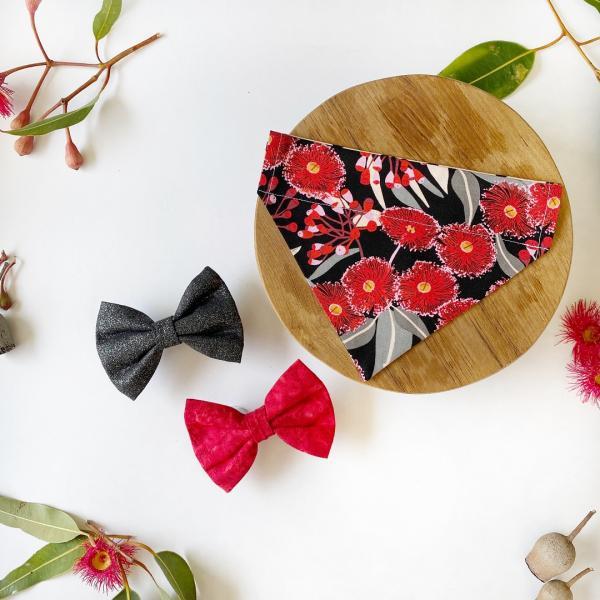 bow tie bandana styled