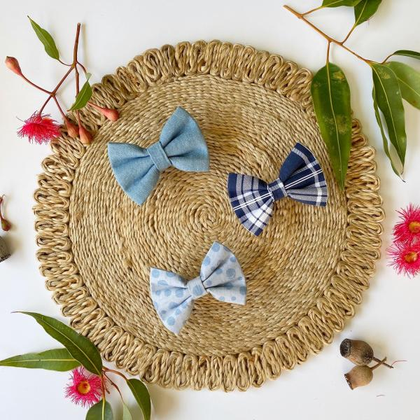 dog bow tie styled