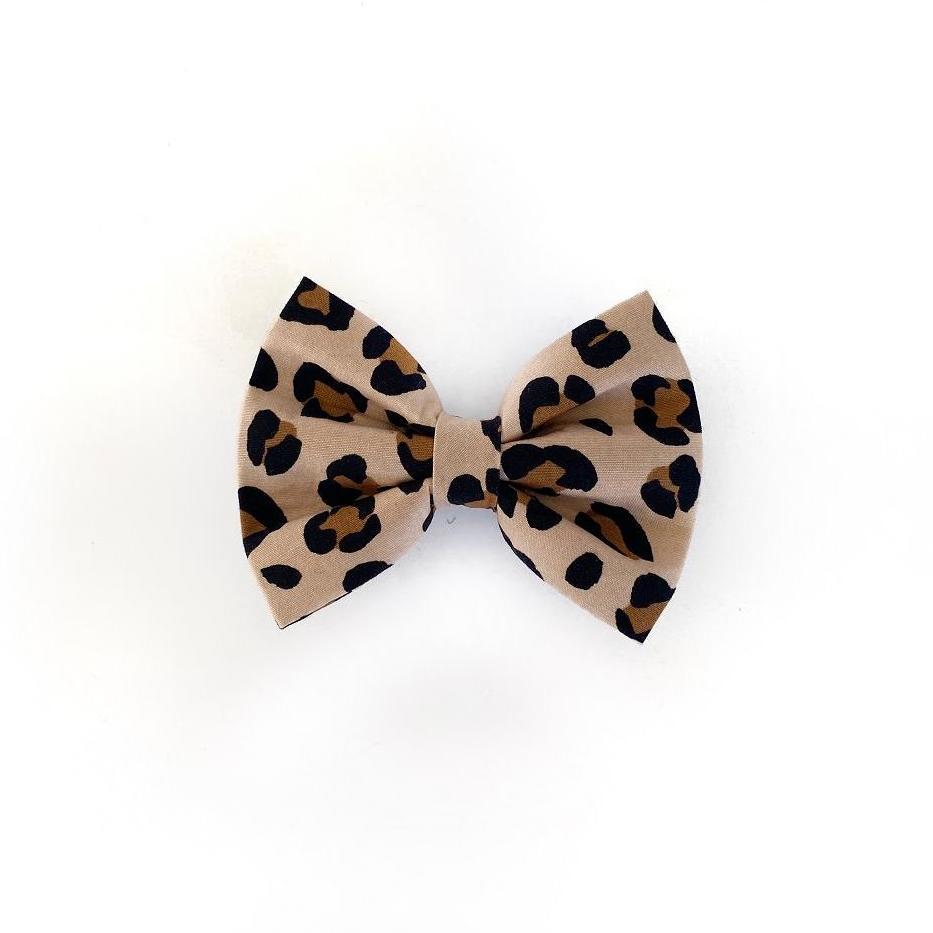 Leopard Print Bow Tie
