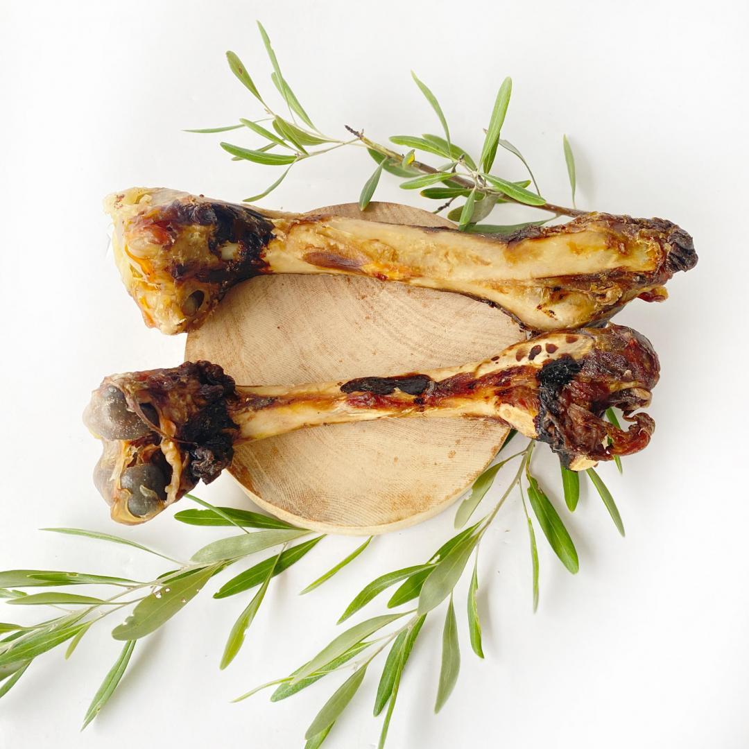 Kangaroo Leg Bone Dehydrated Treats
